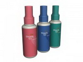 Beauty care hair spray 3d preview