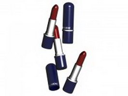 Lumene lipstick 3d preview