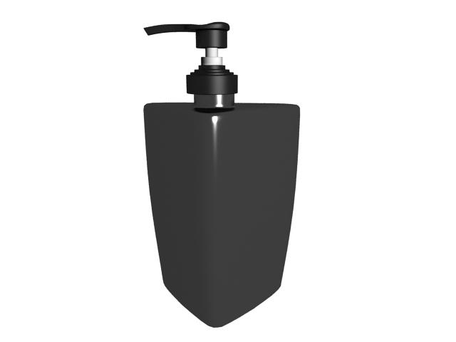 Liquid hand soap 3d rendering