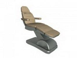 Massage chair recliner 3d preview
