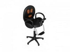 Swivel massage chair 3d preview