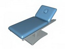 Electric massage table 3d preview