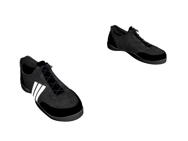Skate shoe for men 3d rendering