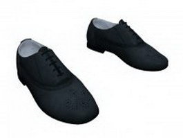 Casual dress shoes for men 3d preview