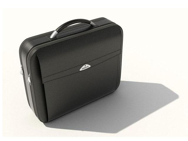 Laptop briefcase for men 3d rendering