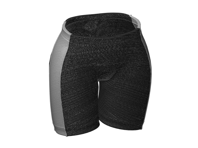 Sports briefs for men 3d rendering
