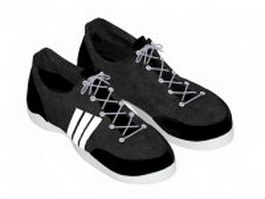 Sneakers shoes for men 3d model preview