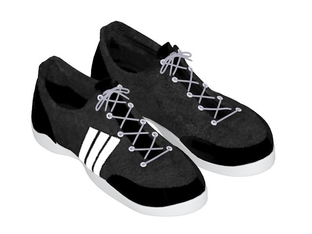Sneakers shoes for men 3d rendering