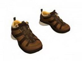Sports shoes for men 3d model preview