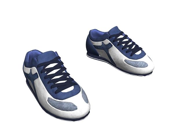 Gym shoes for men 3d rendering