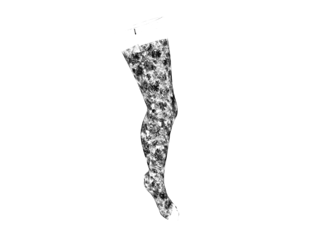 Patterned tights 3d rendering
