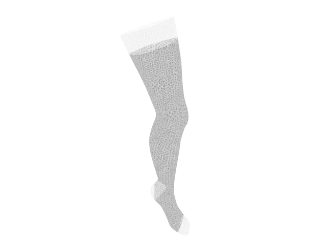 Silk stockings 3d rendering