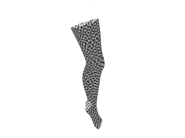 Fishnet stockings 3d rendering