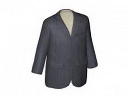 Casual suit jacket 3d preview