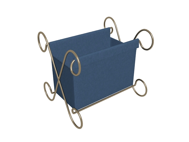 Clothes storage container 3d rendering