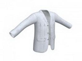 Wool blazer for men 3d preview