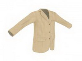 Casual blazer for men 3d preview
