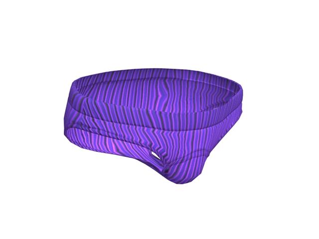 Men brief swimwear 3d rendering