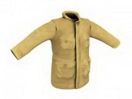 Winter jacket for men 3d preview