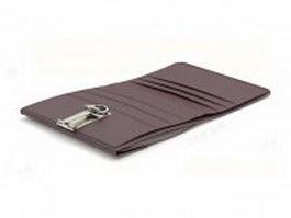 Bi-fold wallet 3d preview