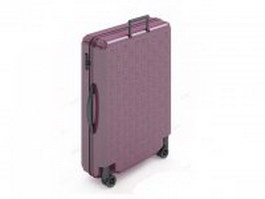 Trolley luggage bag 3d preview