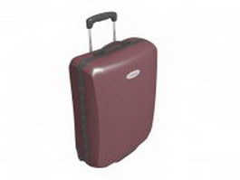 Hand luggage suitcase 3d preview
