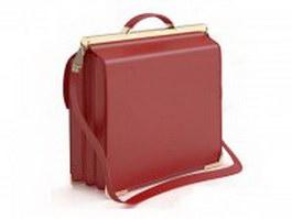 Elegant women's briefcase 3d preview
