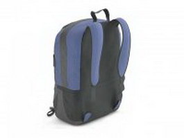 Backpack travel bag 3d preview