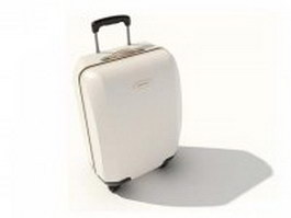 Luggage bag for girls 3d model preview