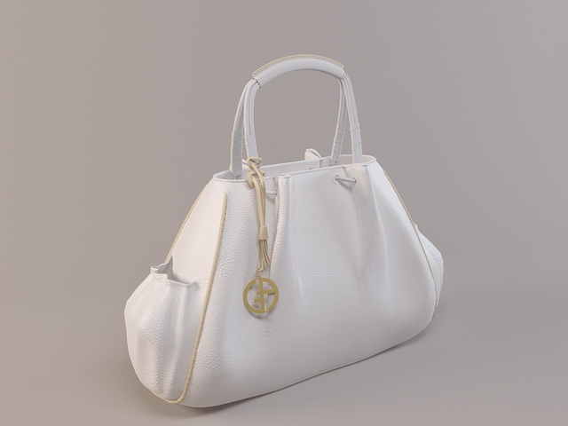 Armani handbag 3d rendering