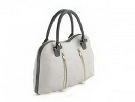Leather handbag for women 3d preview