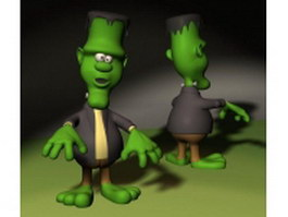 Frankie Toon 3d model preview