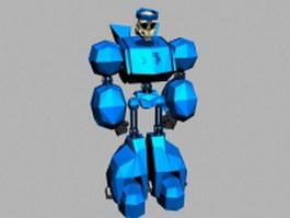 Skull bot 3d model preview