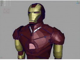 Iron man suit 3d preview