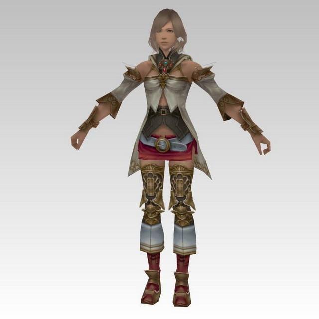 Fantasy warrior princess 3d rendering