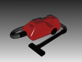Canister vacuum cleaner 3d preview