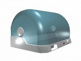 Hot dog roller cooker 3d model preview