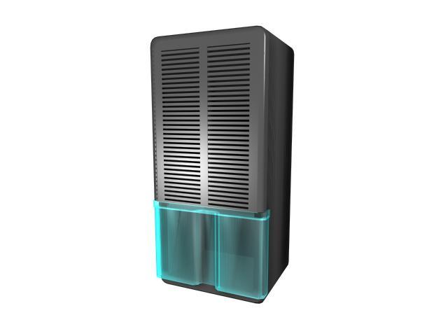 Air humidifier purifier 3d rendering