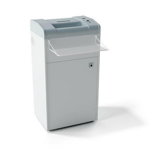 Office paper shredder 3d rendering
