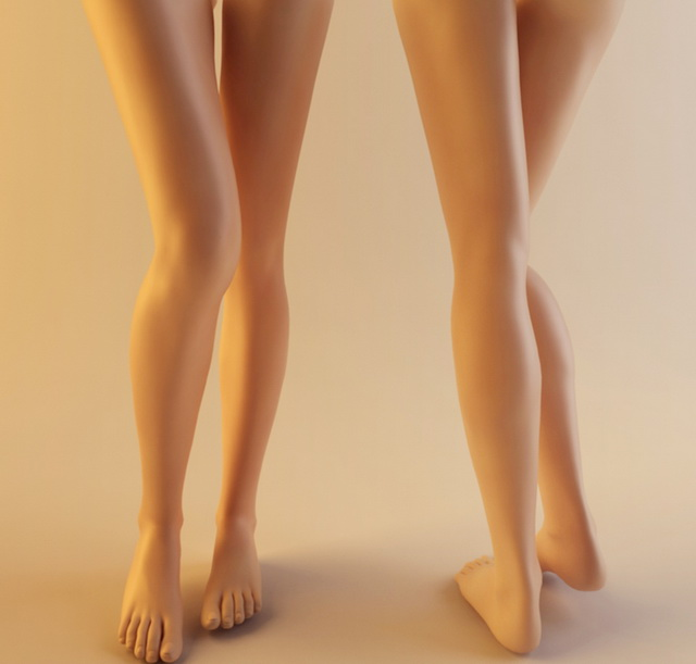 Realistic Woman Leg 3d Model 3ds Max Files Free Download