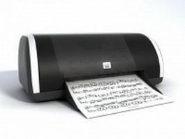 Apple printer 3d preview