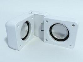 Sound pod 3d model preview