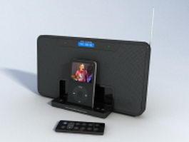 Altec Lansing iM600 speaker system 3d preview