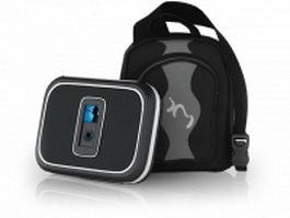 Altec Lansing iM9 speakers 3d preview
