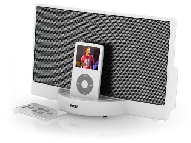 Bose sounddock digital music system 3d rendering