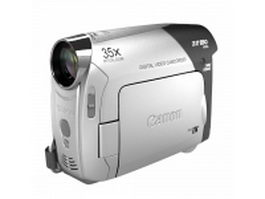 Canon ZR850 camcorder 3d preview