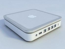 Apple AirPort Extreme 3d model preview