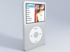 iPod Nano classic 3d preview