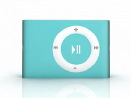 iPod Shuffle 3d preview
