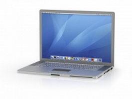 Apple MacBook Pro 3d model preview